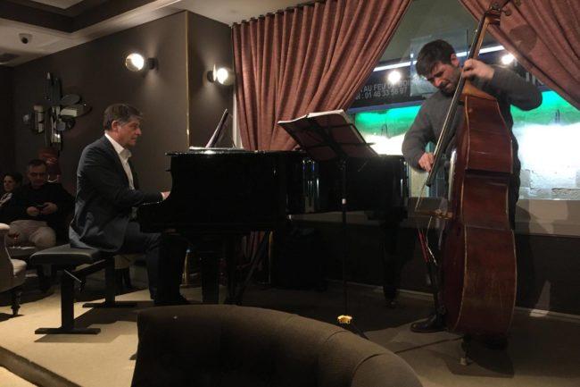 Christian BRENNER en duo avec Blaise CHEVALLIER @ Le Café Laurent