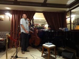 Christian BRENNER en quartet avecValéry HAUMONT, ArnaudLECHANTRE et Bruno SCHORP @ Le Café Laurent | Henrichemont | Centre | France