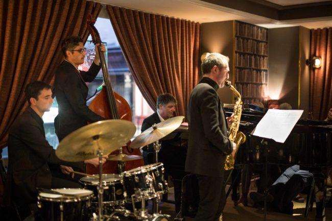Quartet Christian BRENNER, Stéphane MERCIER, Bruno SCHORP et Jean-Pascal MOLINA @ Le Café Laurent   Henrichemont   Centre   France